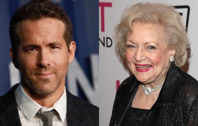 Ryan Reynolds and Betty White