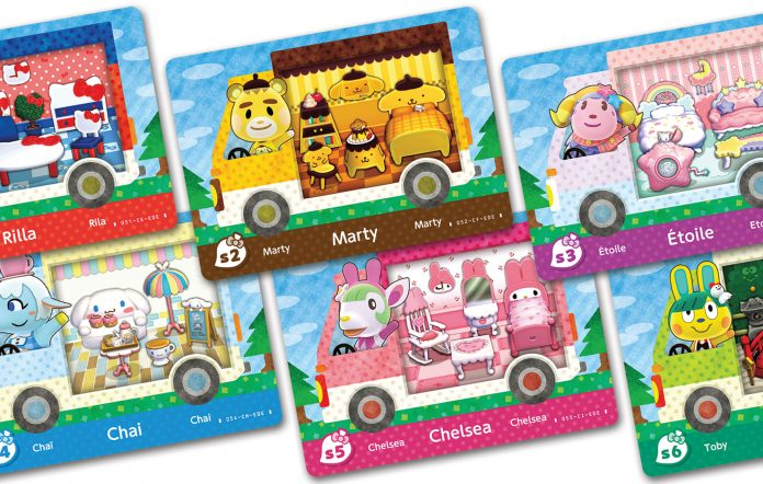 Sanrio Cards Animal Crossing New Horizons