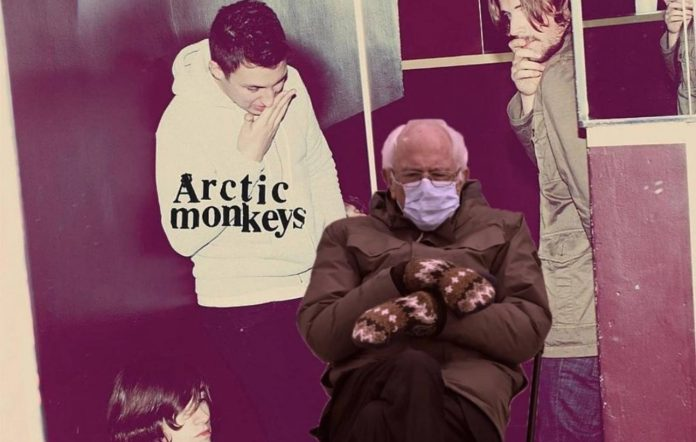 Bernie Sanders has been Photoshopped into classic album covers