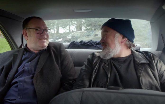 Stewart Lee and Robert Lloyd in 'King Rocker'