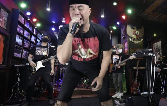 Ahmad Dhani Ahmad Band new lineup 2021 livestream concert Indonesia rock