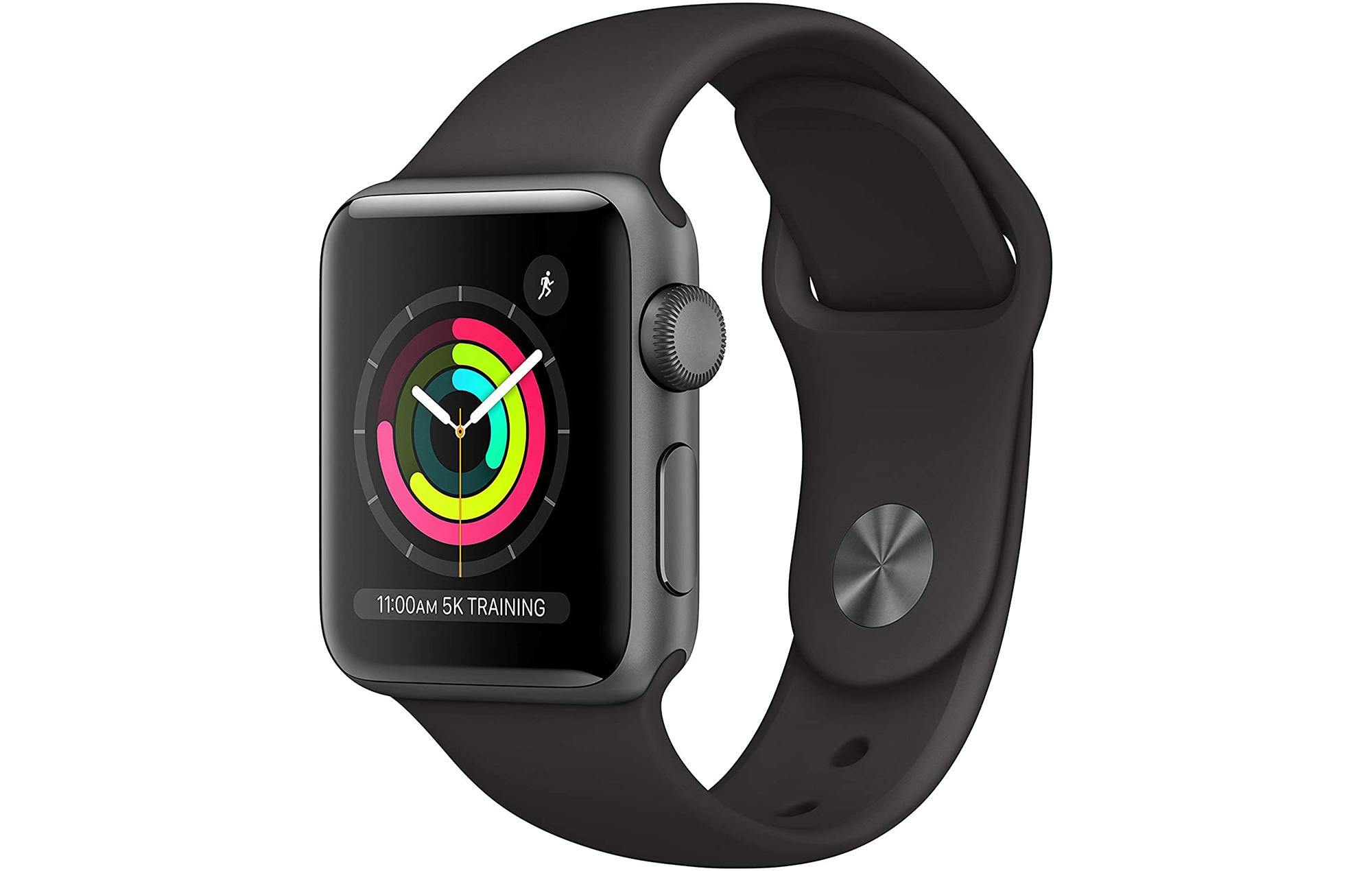apple watch series 3 black