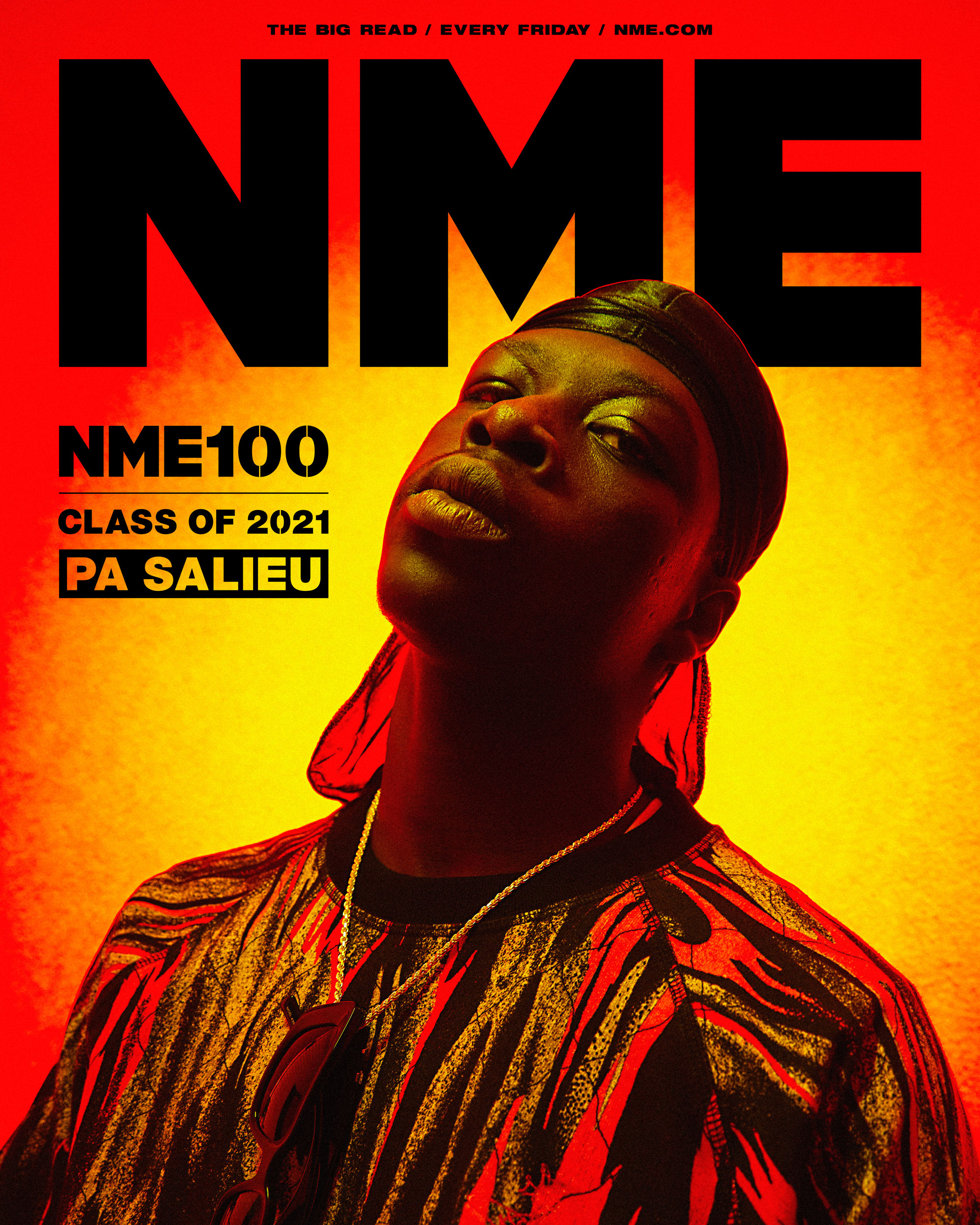 NME Cover 2021 Pa Salieu