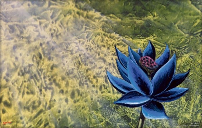 Black Lotus artwork from Magic: The Gathering. Image Credit: Wizards of the Coast
