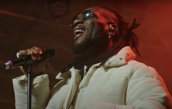 Burna Boy Way Too Big performance Late Night with Seth Myers