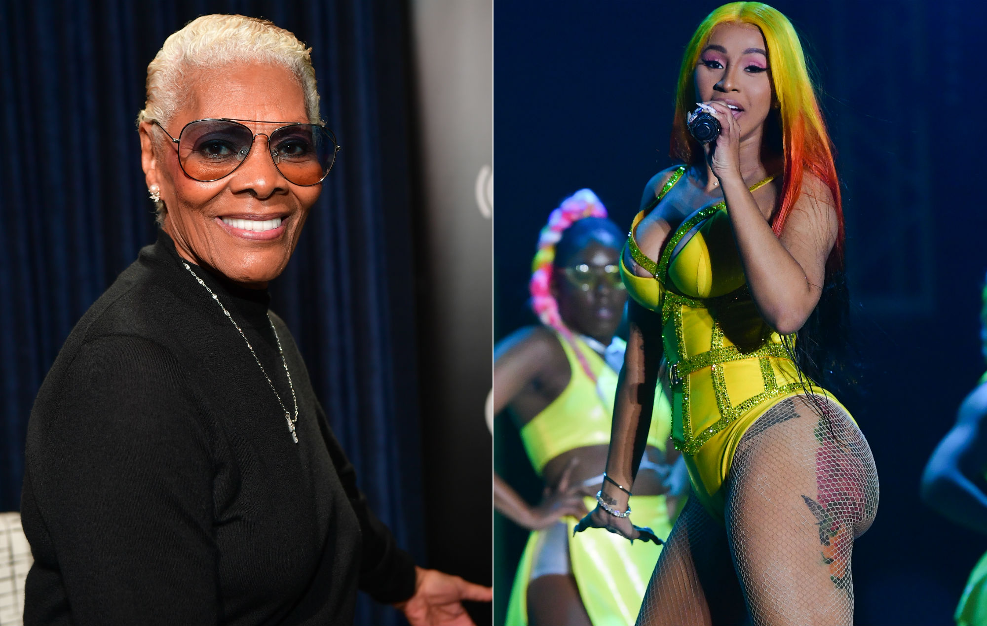 """Dionne Warwick has just discovered Cardi B: """"She's authentically herself"""""""