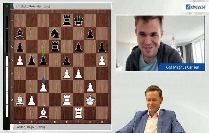 chess24 esports champion Magnus Carlsen.