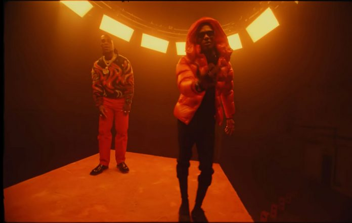 WizKid and Burna Boy in 'Ginger'