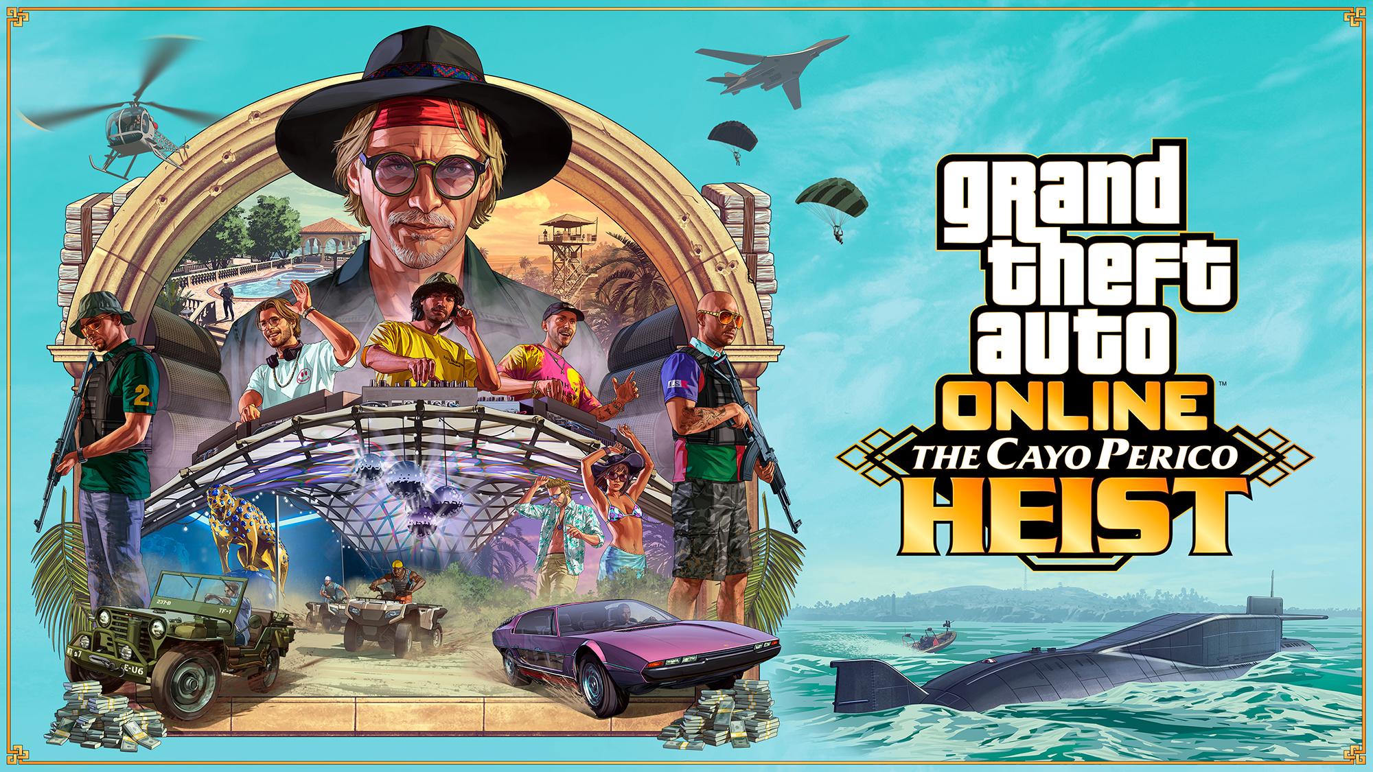 GTA Online: Cayo Perico Heist