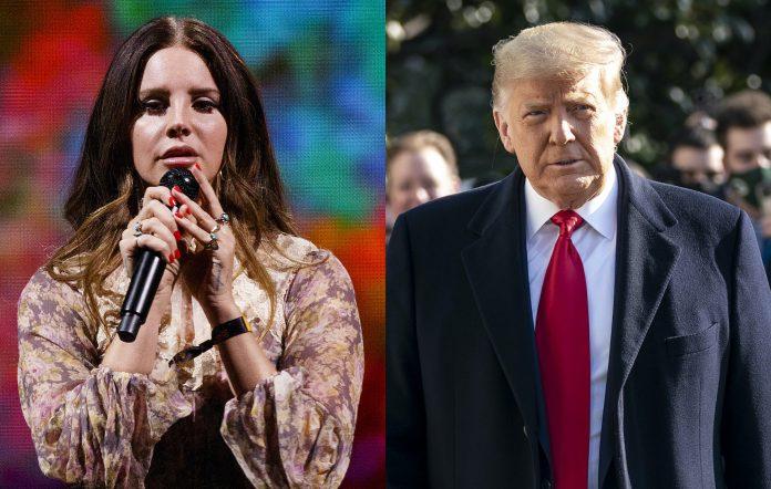 Lana Del Rey, Donald Trump