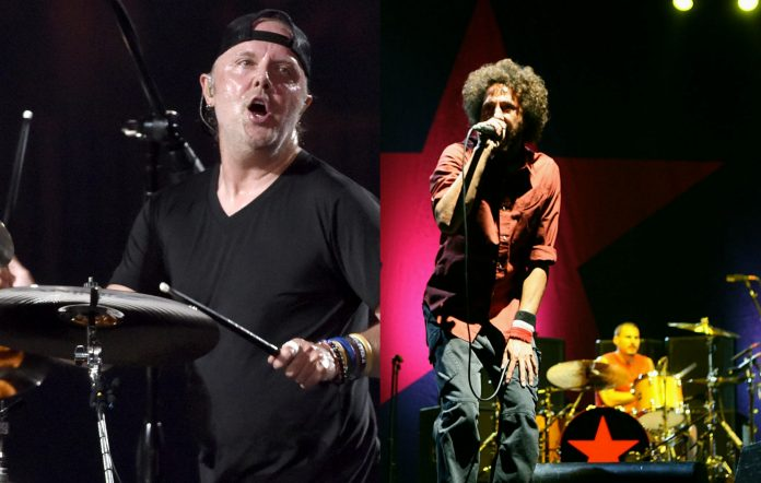 Metallica's Lars Ulrich / Rage Against The Machine