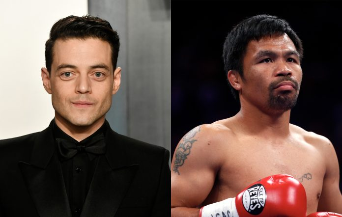 Rami Malek denies rumours he will play Manny Pacquiao in a biopic movie