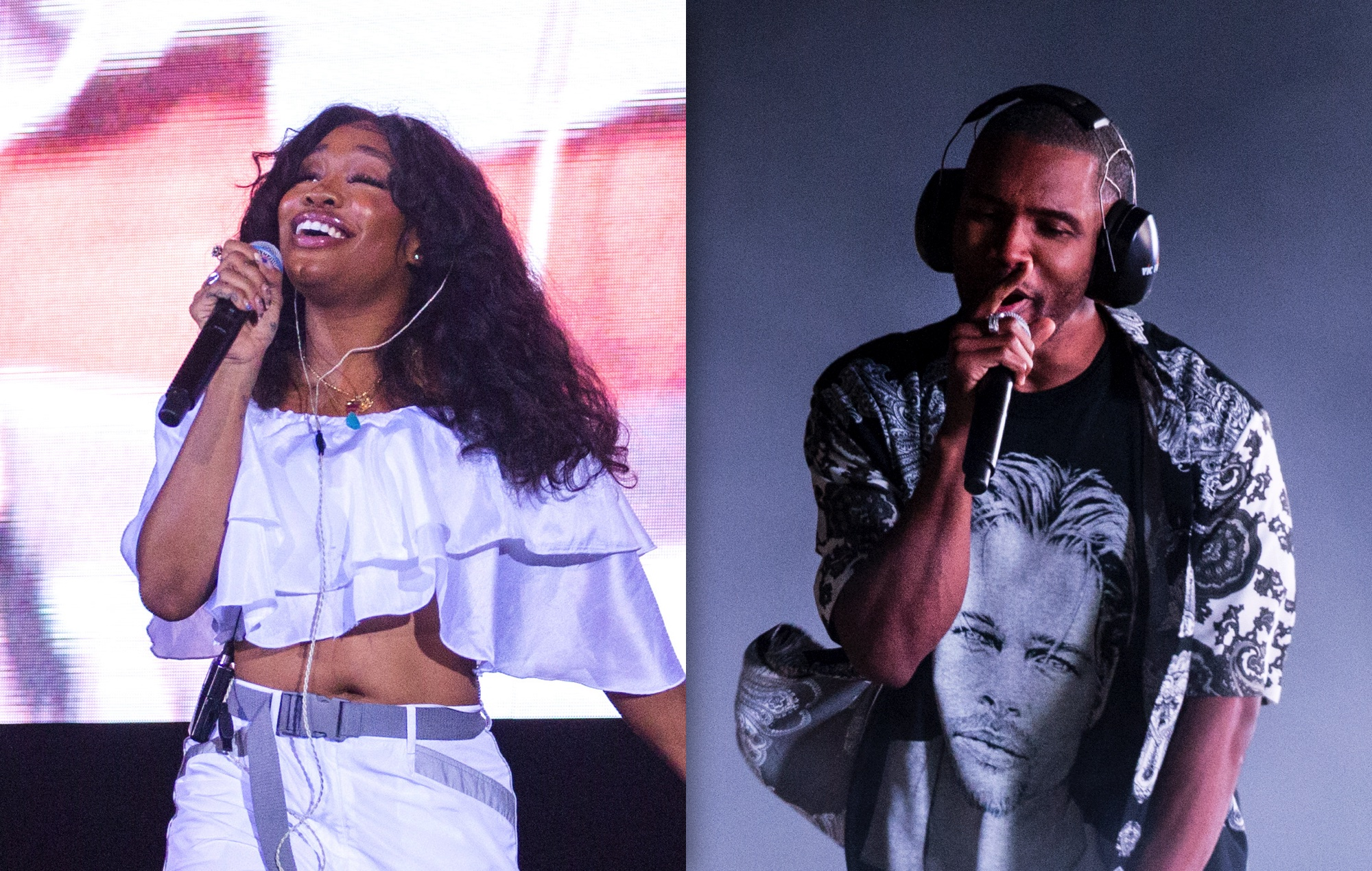 SZA says she's asking Frank Ocean to help remix 'Good Days'