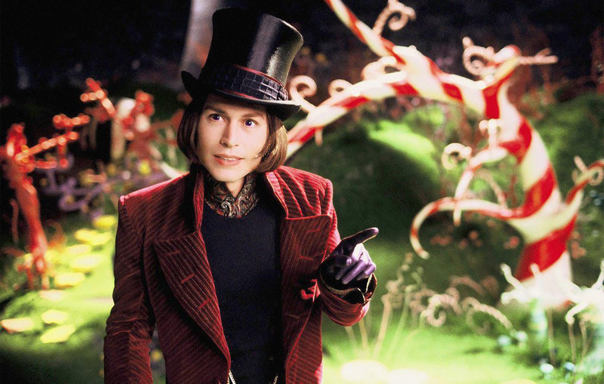 Willy Wonka Johnny Depp