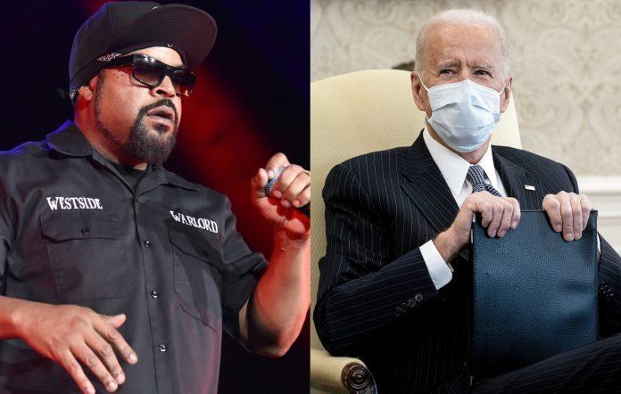 Ice Cube and Joe Biden