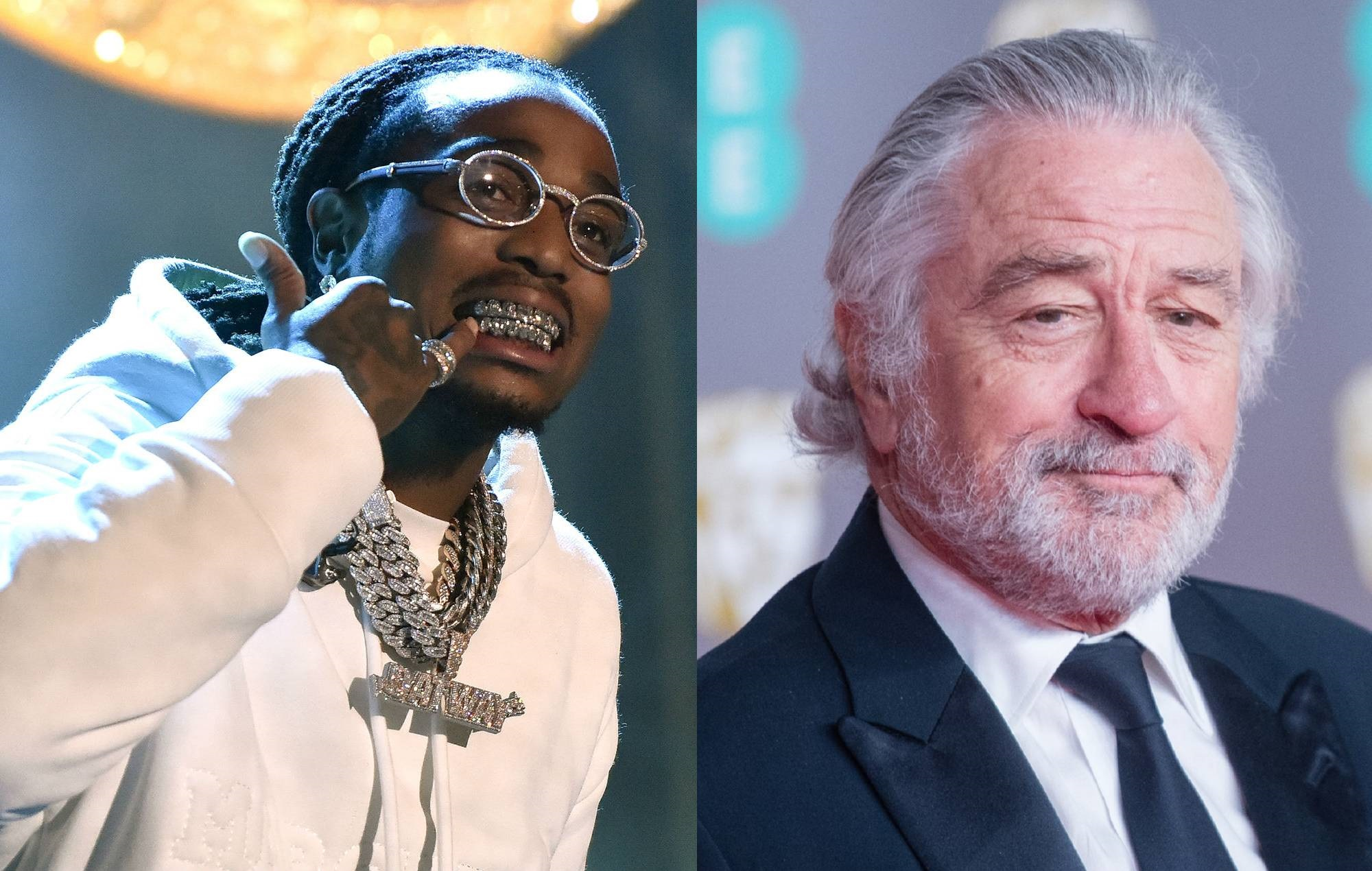 Migos' Quavo is set to make his film debut in new movie with Robert De Niro