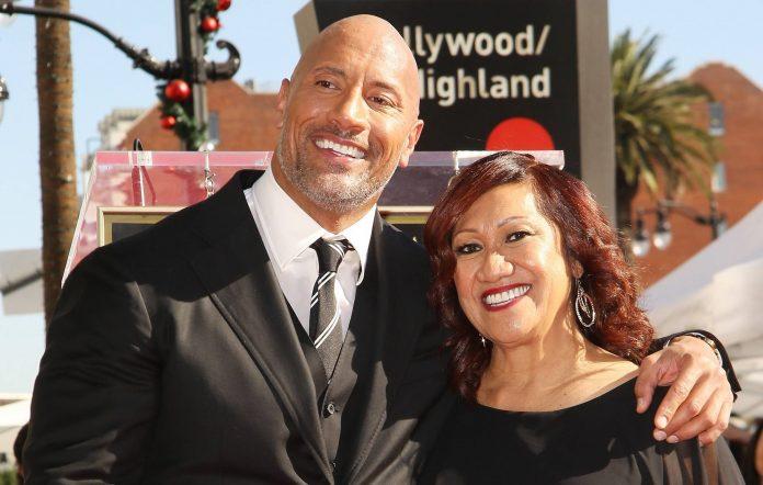 Dwayne 'The Rock' Johnson and his mum Ata