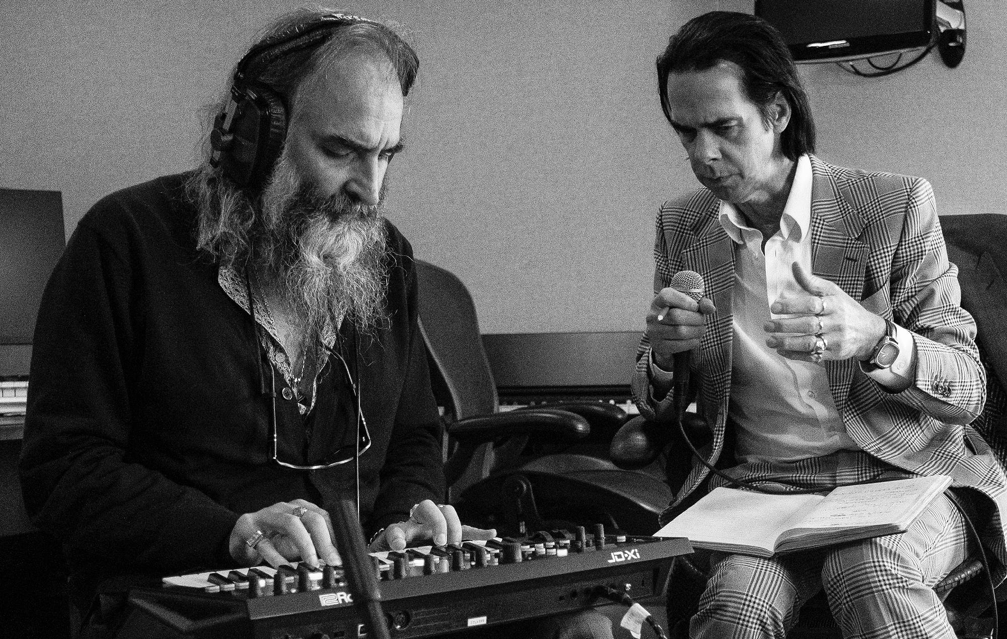 Nick Cave & Warren Ellis. Credit: Joel Ryan