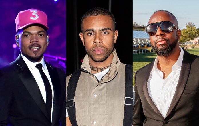 Chance The Rapper, Vic Mensa, Wyclef Jean
