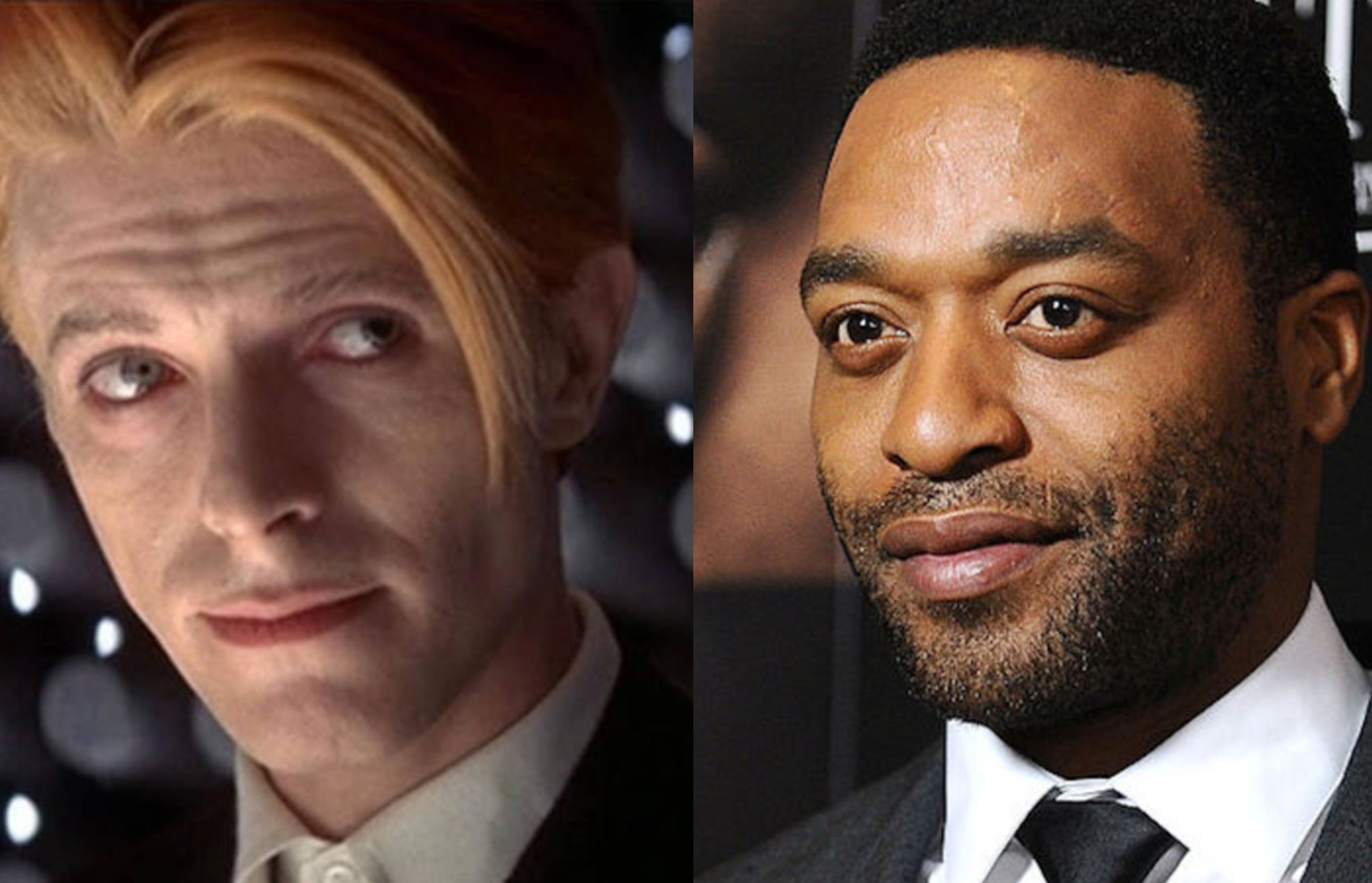 Chiwetel Ejiofor David Bowie The Man Who Fell to Earth