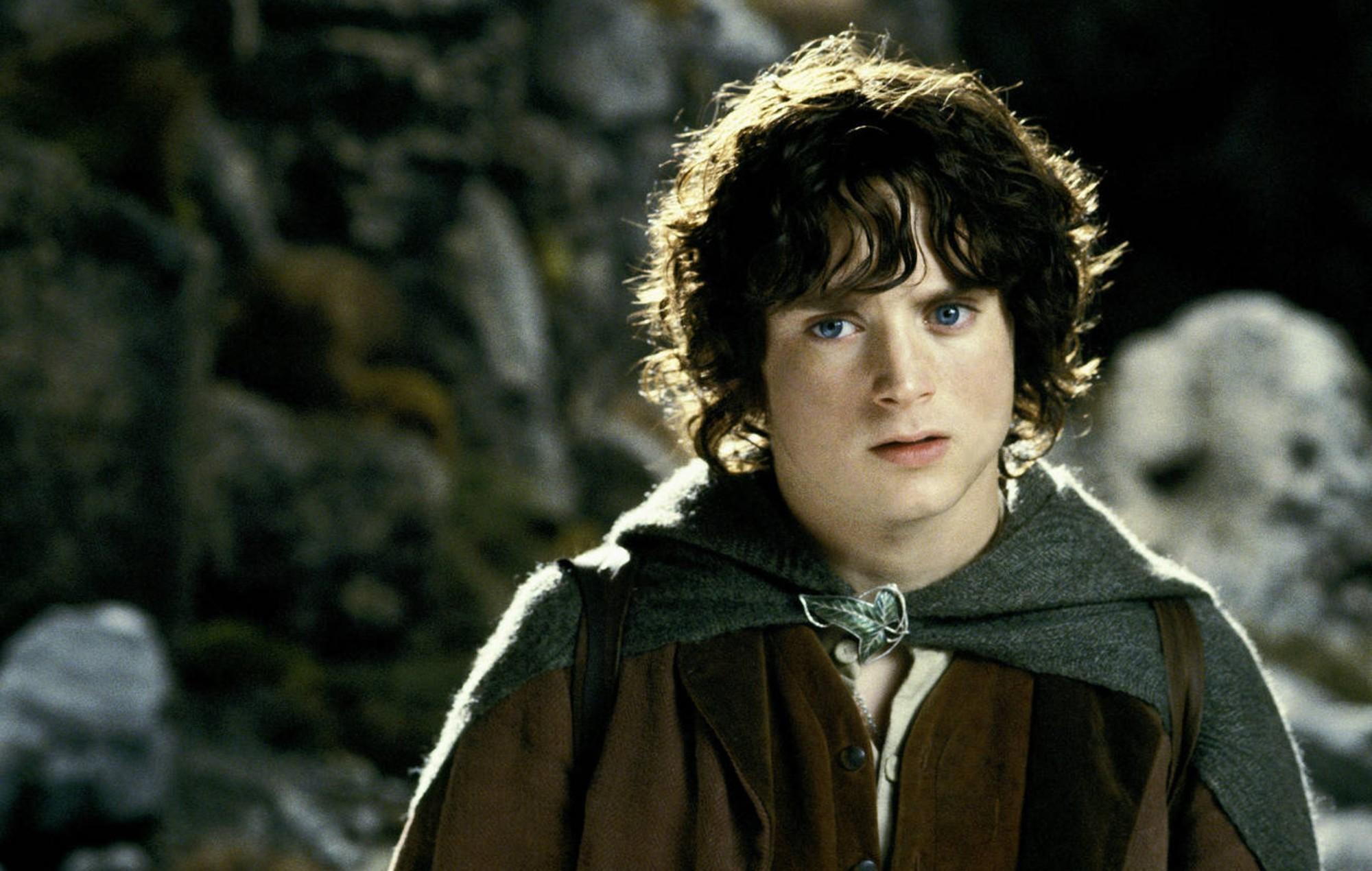 Elijah Wood as Frodo Baggins in 'The Lord of the Rings'
