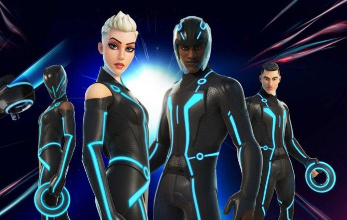 Fortnite Tron costumes