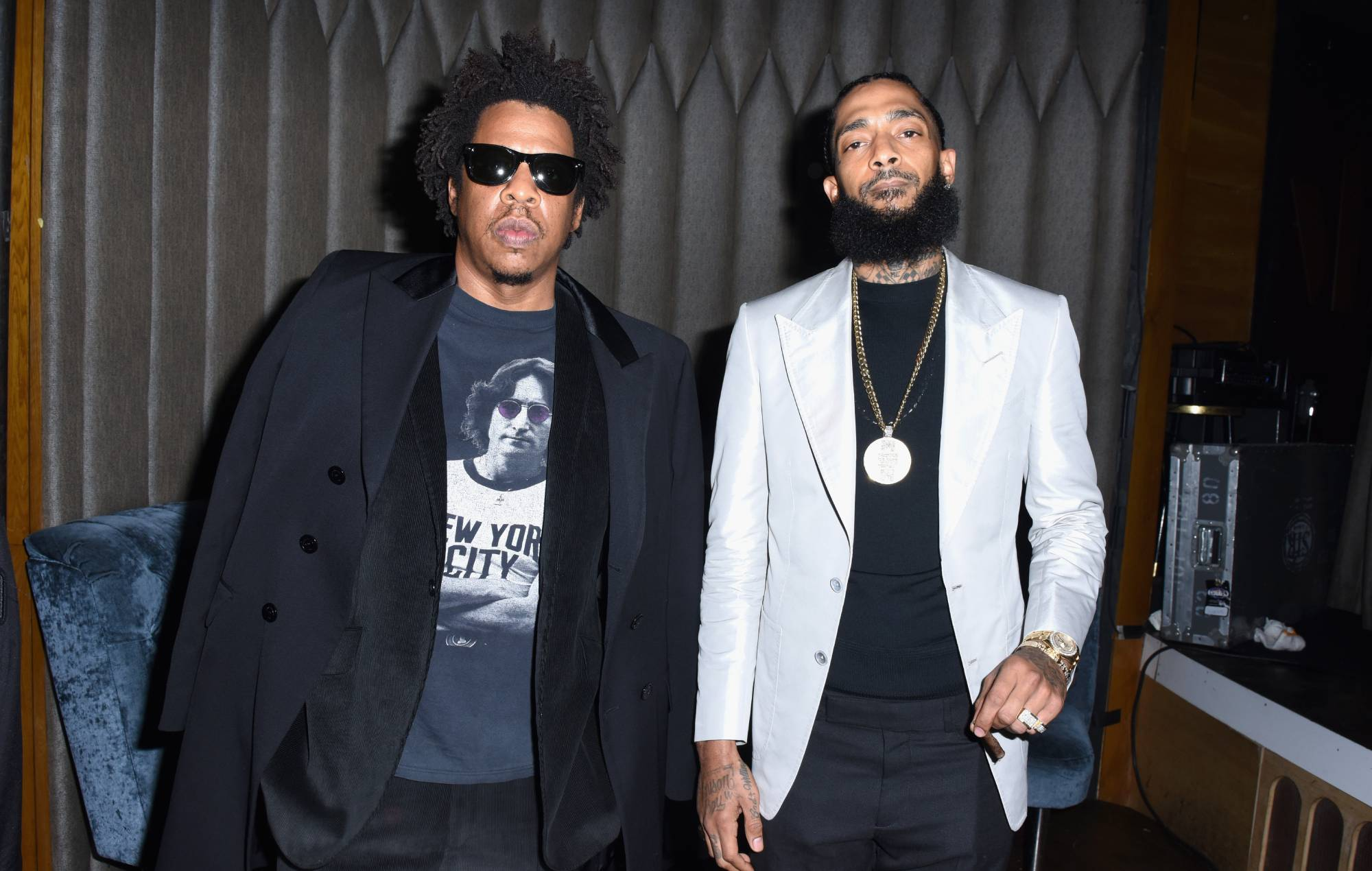 Listen to Jay-Z and Nipsey Hussle's new song 'What It Feels Like'