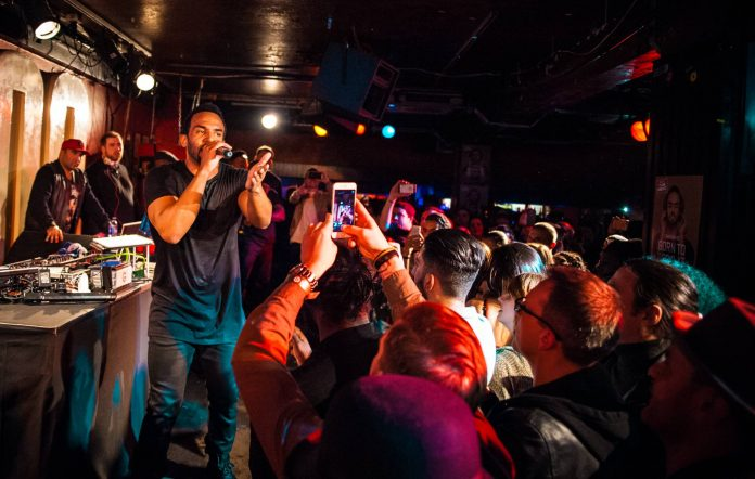 Craig David performs at The 100 Club on February 24, 2016 in London, England. (Photo by Venla Shalin/Redferns)