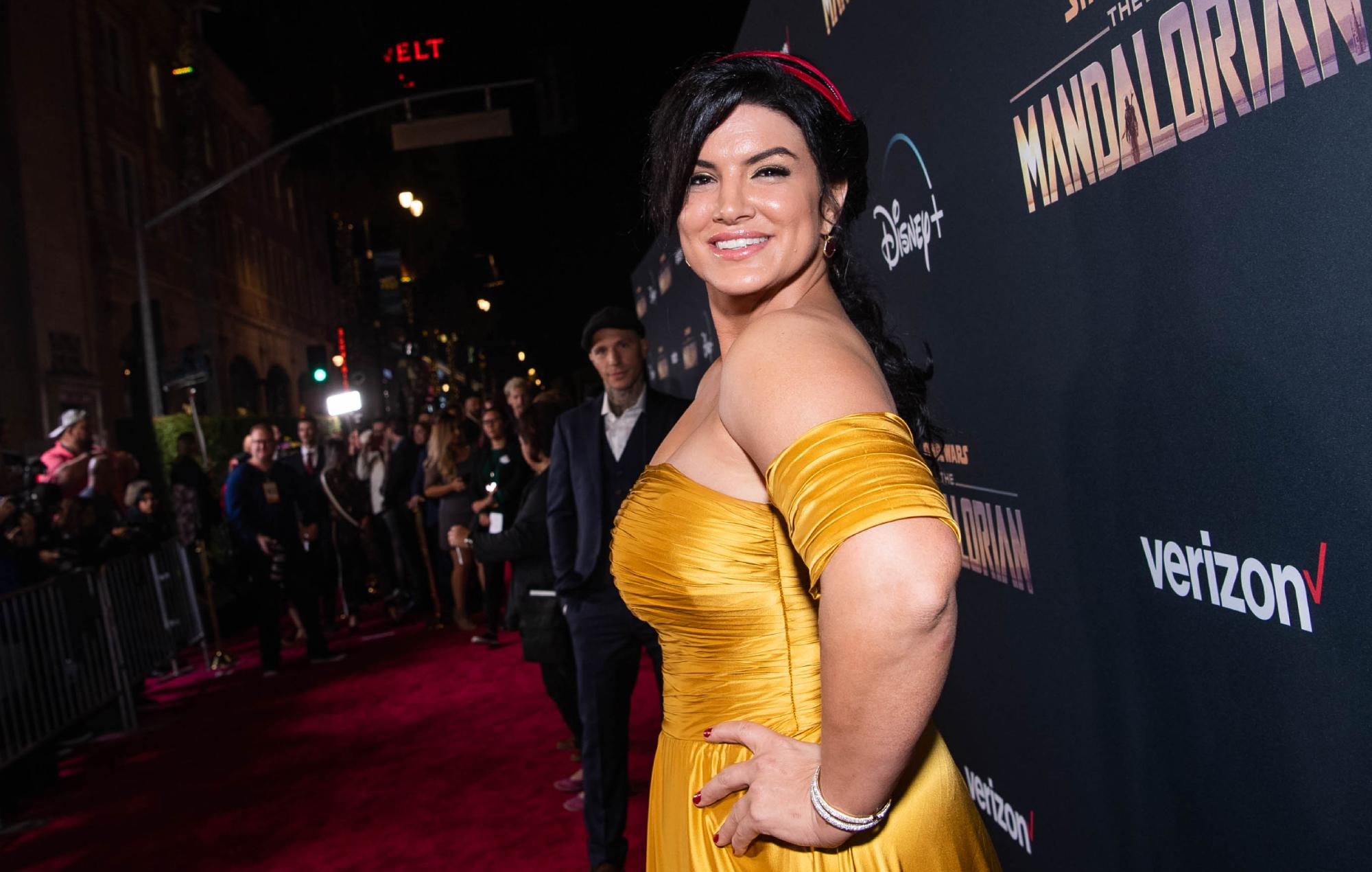 Gina Carano says Disney accidentally sent revealing email before she was fired