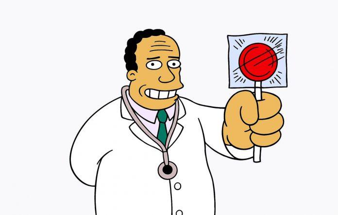 The Simpsons Dr Hibbert