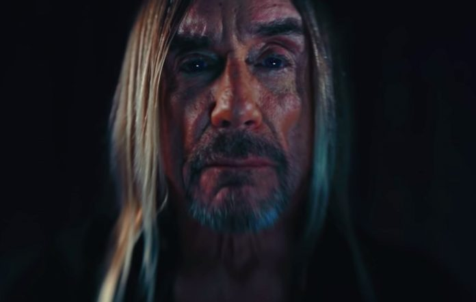 Still from Iggy Pop's 'Do Not Go Gentle Into That Good Night' video