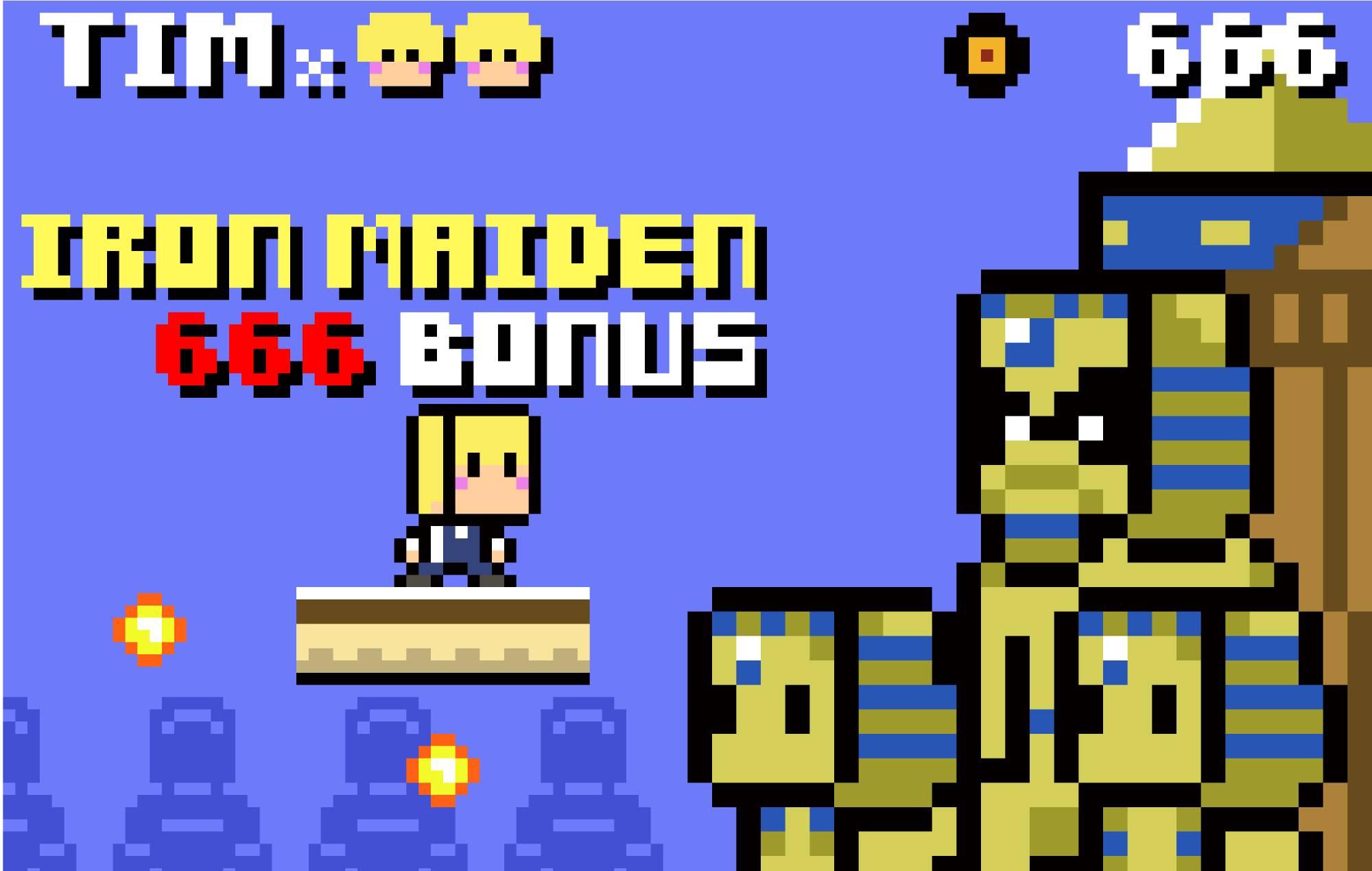 Designer Takekiyo has made a demo of an 8-Bit video game for The Charlatans' frontman Tim Burgess' #TimsTwitterListeningParty series. Credit: Takekiyo