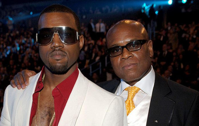 Kanye West and L.A. Reid