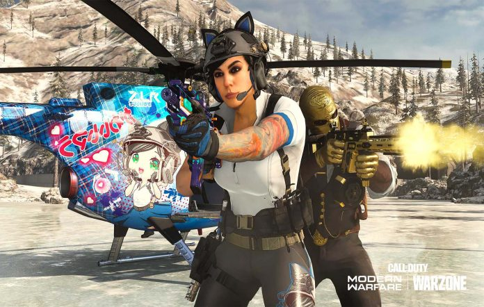 Mara in Call of Duty: Modern Warfare. Image Credit: Activision