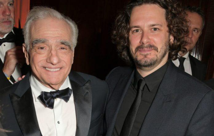 Martin Scorsese and Edgar Wright