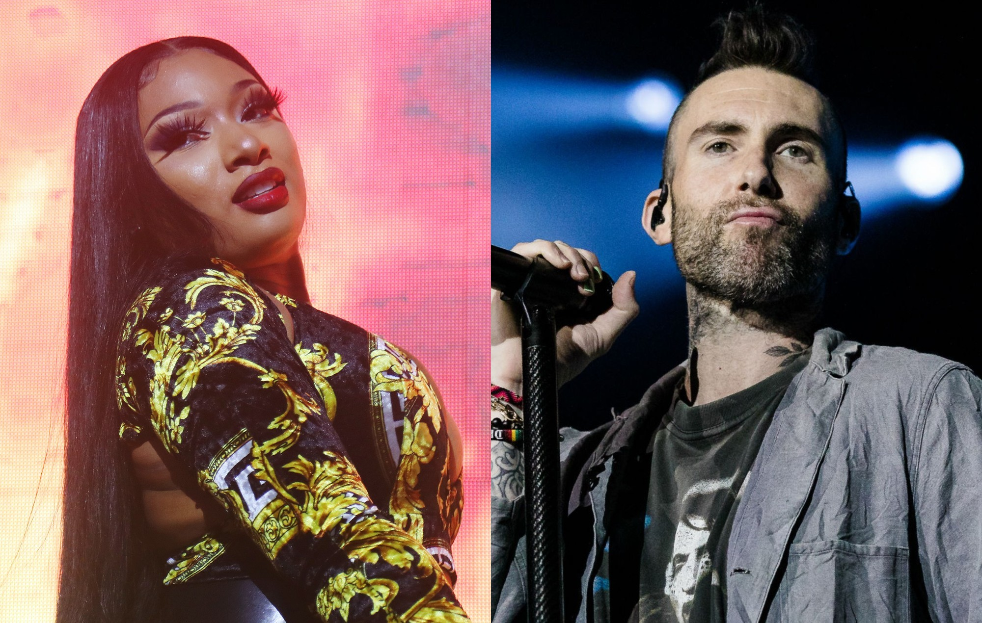 Megan Thee Stallion and Maroon 5 to team up on single 'Beautiful Mistakes' next week