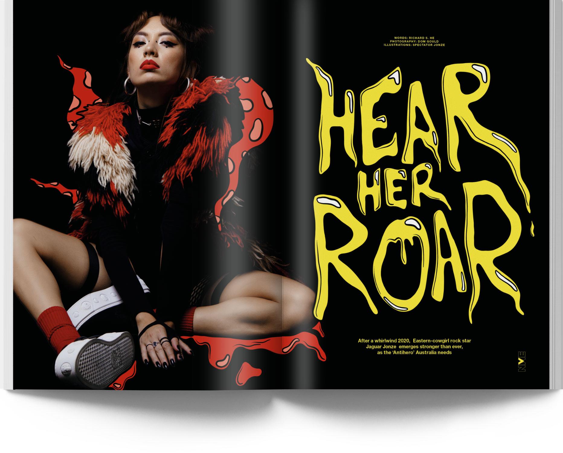 NME Magazine Issue 15 Jaguar Jonze