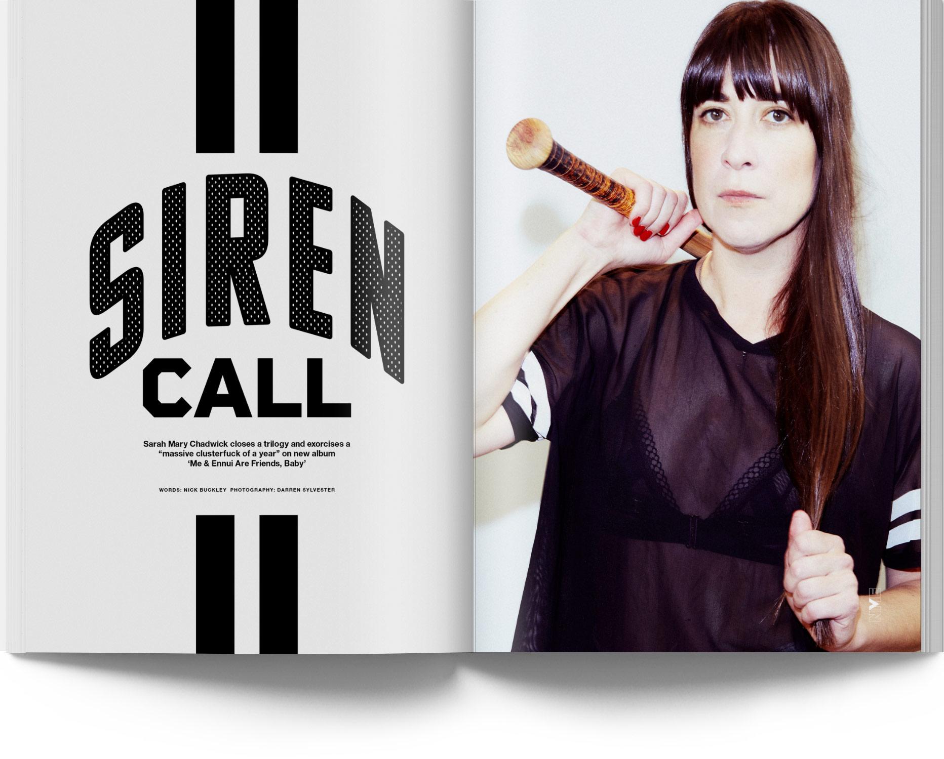 NME Magazine Issue 15 Sarah Mary Chadwick