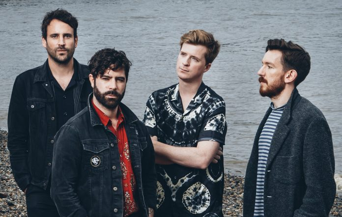 Foals shot for NME. Credit: Andy Ford