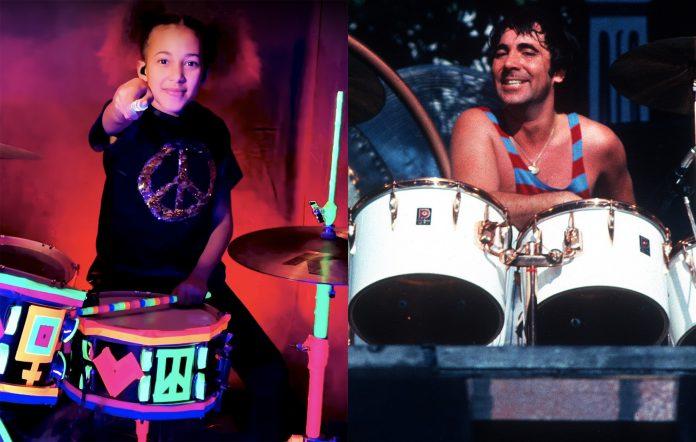 Nandi Bushell and Keith Moon