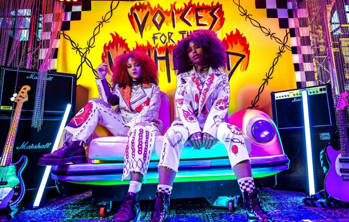Nova Twins announce the 'Voices For The Unheard' compilation. Credit: Press