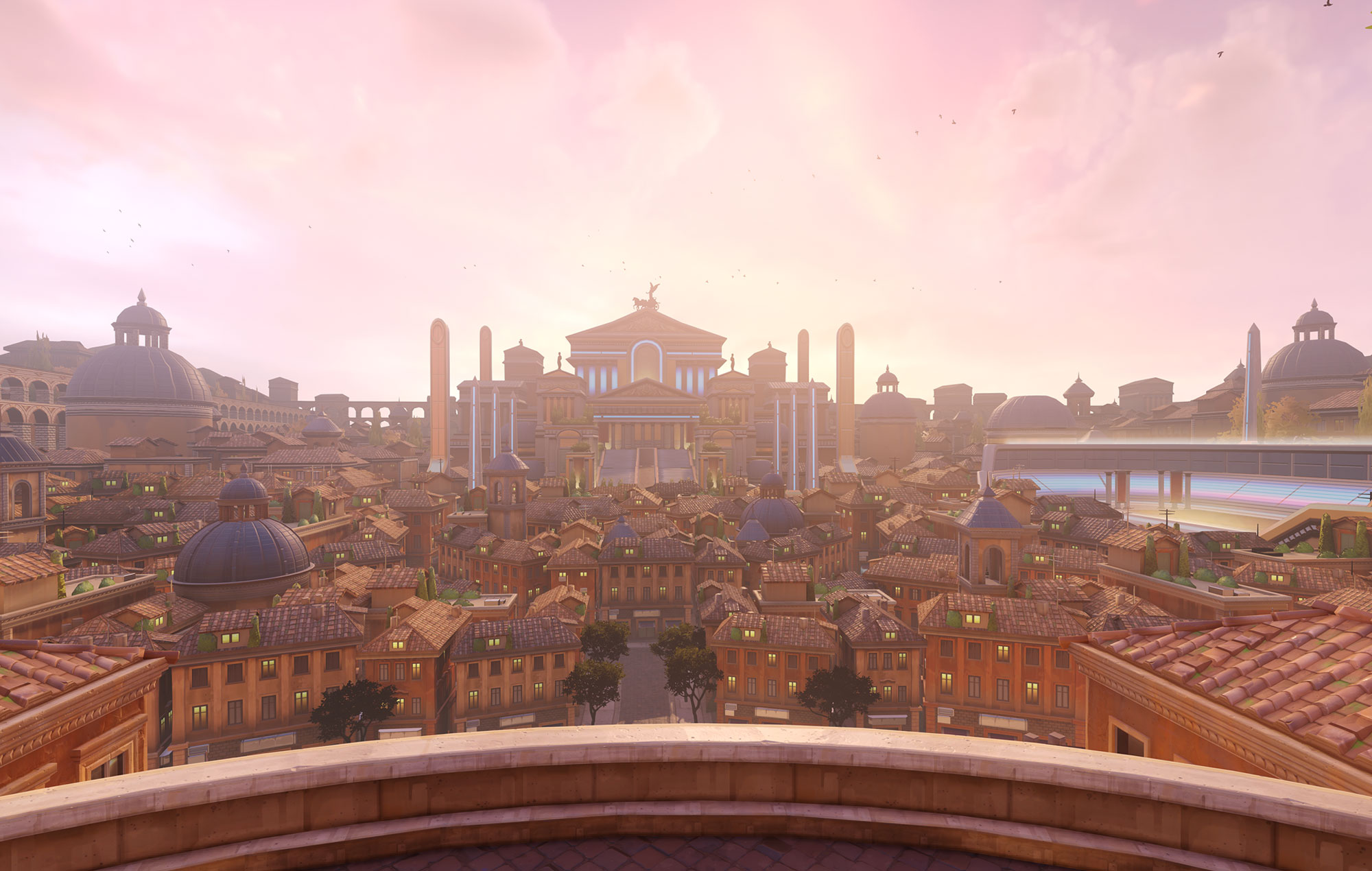 Rome map, Overwatch 2