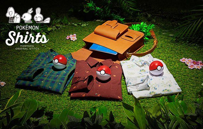 Pokemon Shirts. Image credit: Original Stitch