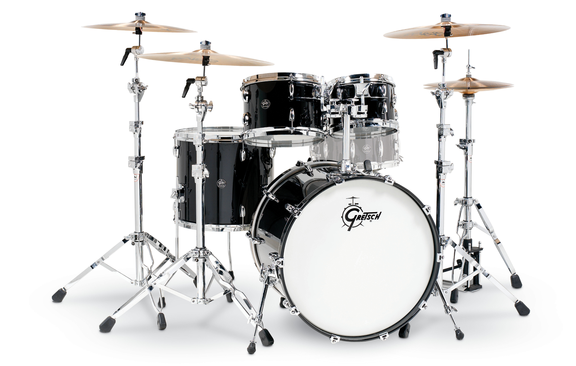 Royal Blood fans can win the Gretsch drum kit played by Ben Thatcher in their new video for 'Typhoons'. Credit: Press