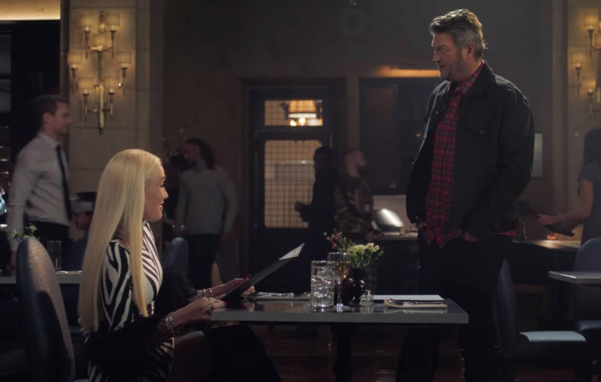 Watch Gwen Stefani and Blake Shelton's romantic Super Bowl commercial