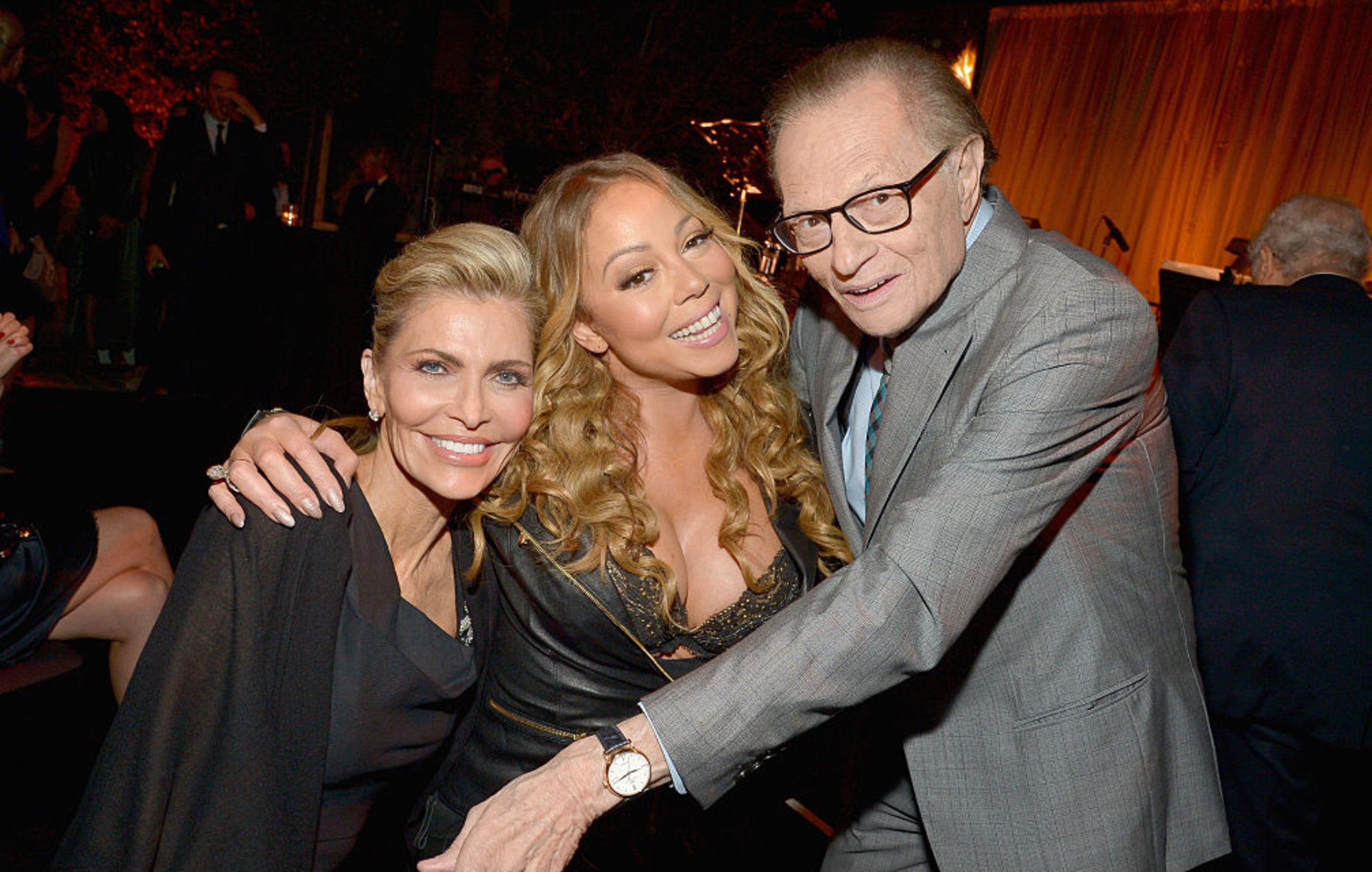 Shawn Southwick King, Mariah Carey and Larry King