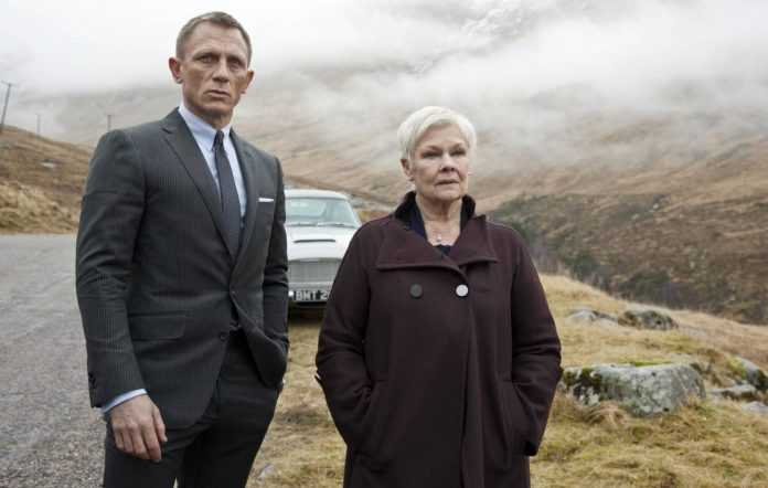 'Skyfall' Daniel Craig and Judi Dench
