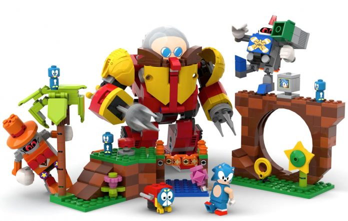 Sonic the Hedgehog Lego