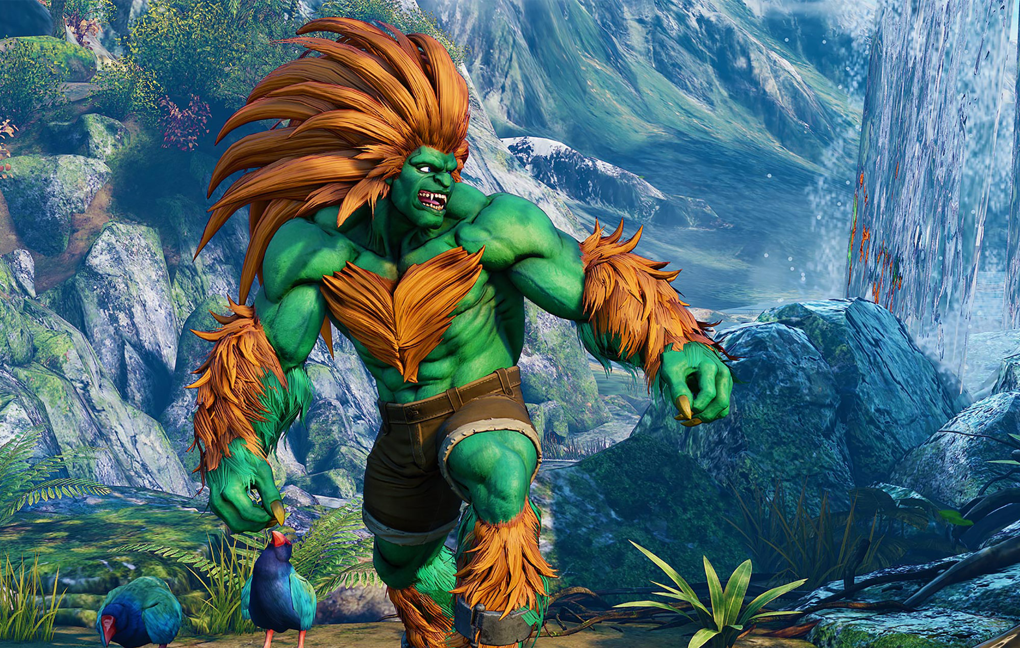 Why is Blanka from 'Street Fighter II' green? 30 years later it's still a  mystery