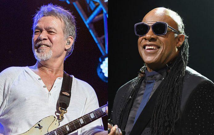 Van Halen and Stevie Wonder